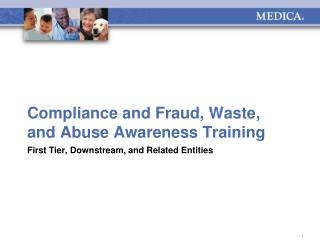 Compliance and Fraud, Waste, and Abuse Awareness Training
