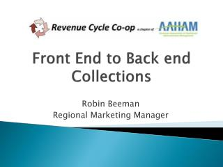 Front End to Back end Collections