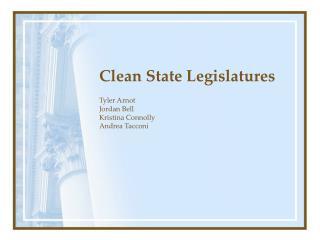 Clean State Legislatures