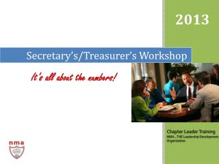 Secretary's/Treasurer's  Workshop