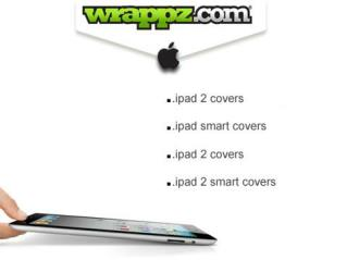 Buy Stylish iPad 2 Covers from Wrappz