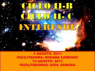 CICLO II-B CICLO II- C