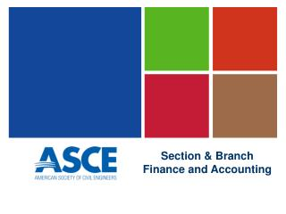 Section & Branch Finance and Accounting