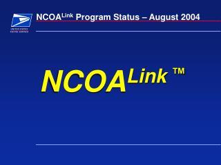NCOA Link ™