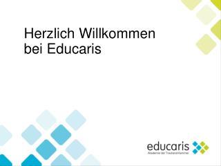 Herzlich Willkommen  bei Educaris