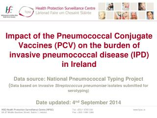 Data source: National Pneumococcal Typing Project