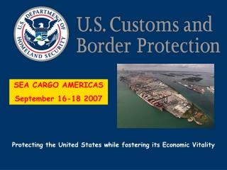 SEA CARGO AMERICAS September 16-18 2007