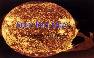 Stars Part One: