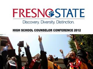 High School Counselor Conference 2012
