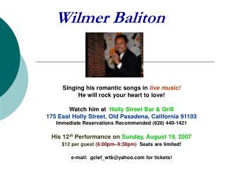 Wilmer Baliton