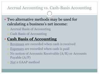 Accrual Accounting vs. Cash-Basis Accounting