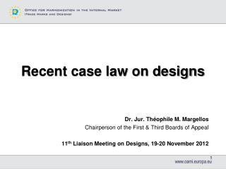 Recent case law on designs