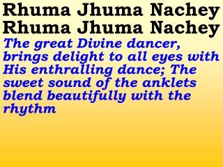 Old 777_New 921 Rhuma Jhuma Nachey