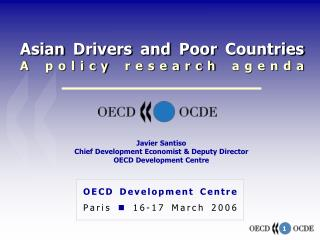 Asian Drivers and Poor Countries A policy research agenda