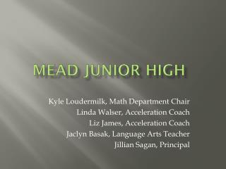 Mead Junior High