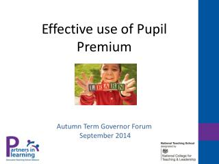 Effective use of Pupil Premium
