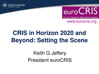 CRIS in Horizon 2020 and Beyond: Setting the Scene