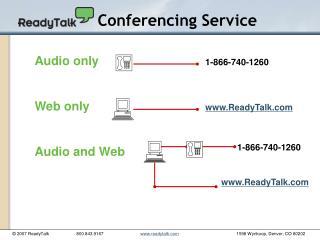 Conferencing Service