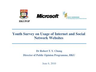 Youth Survey on Usage of Internet and Social Network Websites