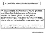 Os Dom nios Morfoclim ticos do Brasil