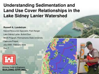 Understanding Sedimentation and Land Use Cover Relationships in the Lake Sidney Lanier Watershed