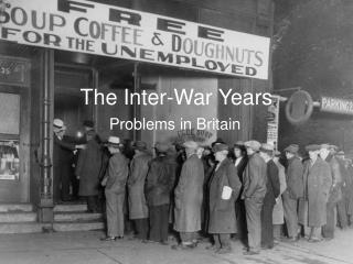 The Inter-War Years