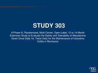 STUDY 303