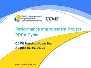 Performance Improvement Project PDSA Cycle