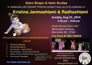Agenda Melodious  Bhajans Enchanting Dances Giri Varada  – Vedic Drama