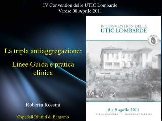 Roberta Rossini Ospedali Riuniti di Bergamo
