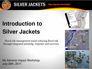Introduction to Silver Jackets