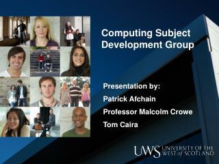 Computing Subject Development Group