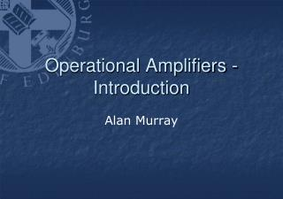 Operational Amplifiers - Introduction