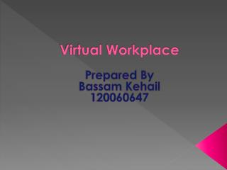 Virtual Workplace