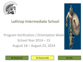 Lathrop Intermediate School