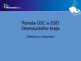Porada ÚSC a DSO Olomouckého kraje