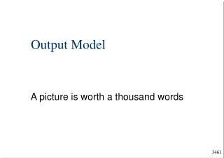 Output Model