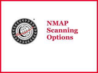 NMAP Scanning Options