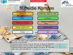 Subsidie Kompas
