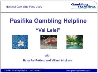 National Gambling Fono 2009
