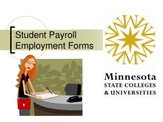 Student Payroll  Employment Forms