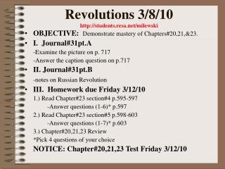 Revolutions 3/8/10 students.resa/milewski
