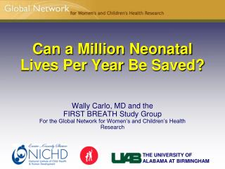 Can a Million Neonatal  Lives Per Year  Be Saved?