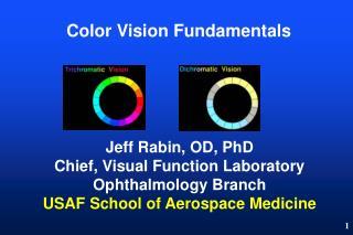 Color Vision Fundamentals