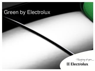 Green by Electrolux