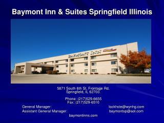 Baymont Inn & Suites Springfield Illinois