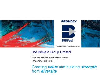 The Bidvest Group Limited