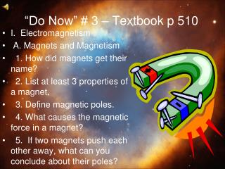 """Do Now"" # 3 – Textbook p 510"