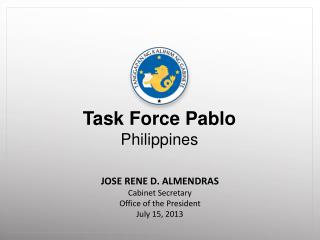Task Force Pablo Philippines