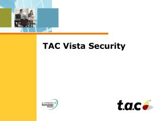 TAC Vista Security